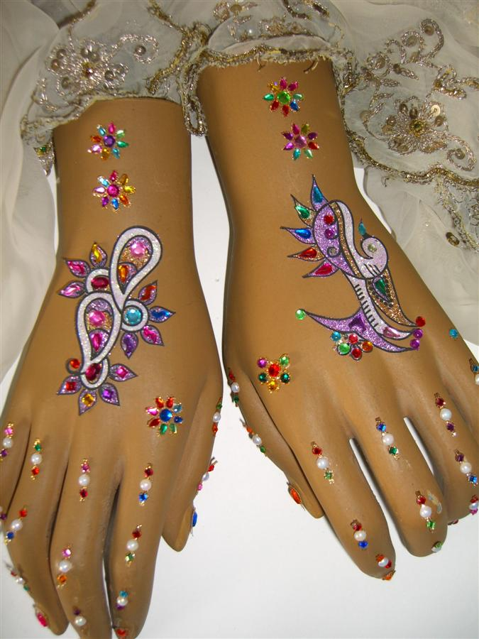 Geht Henna Farbe Tattoo Pictures to Pin on Pinterest